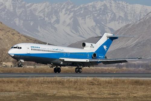 самолет Ariana Afghan Airlines